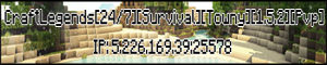 [24/7][Survival][Towny][1.5.2] CraftLegends