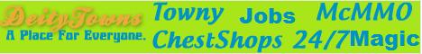 DeityTowns | Towny | 24/7 | Good staff | Guns