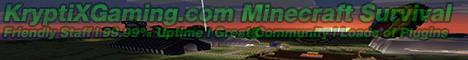 KryptiX Gaming Minecraft!