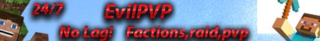 EvilPVP 24/7 No Lag - Factions - Raid - PVP