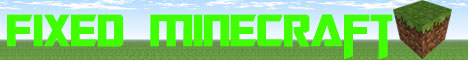 Fixed Minecraft!