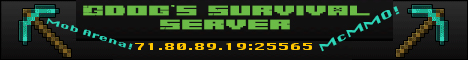 Gdog's Minecraft Server