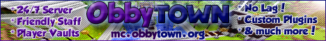ObbyTown Minecraft Server