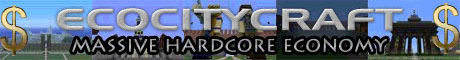 ❖ ❘❙❚ ECOCITYCRAFT ❚❙❘ #1 Massive Economy Server  ❖