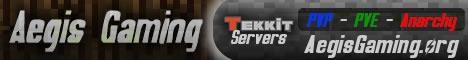 Aegis Gaming Network - Centralized Tekkit Servers